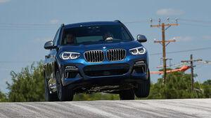BMW X3 (2017) Mitfahrt Spartanburg