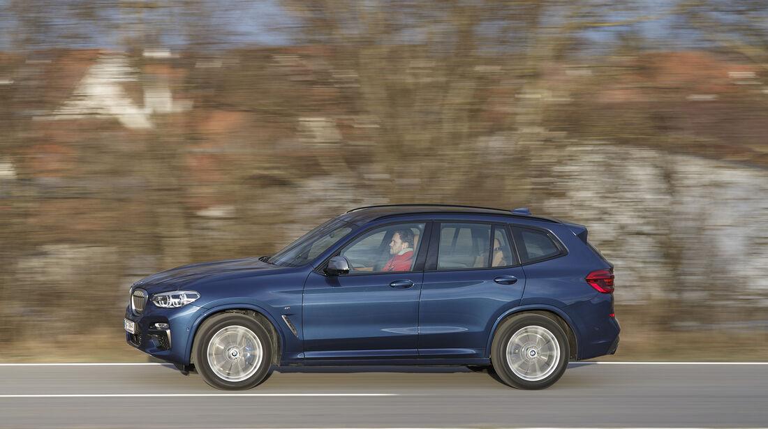 BMW X3 M40i xDrive, Exterieur, Seite
