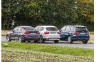 BMW X3, X4, X5, Heckansicht