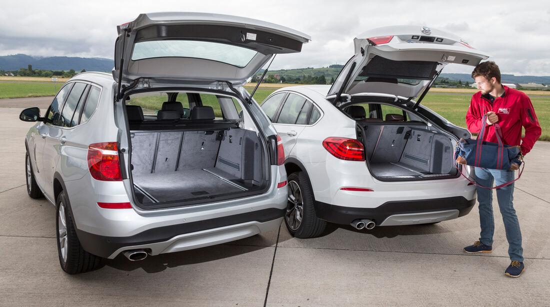 BMW X4 xDrive 35d, BMW X3, Kofferraum
