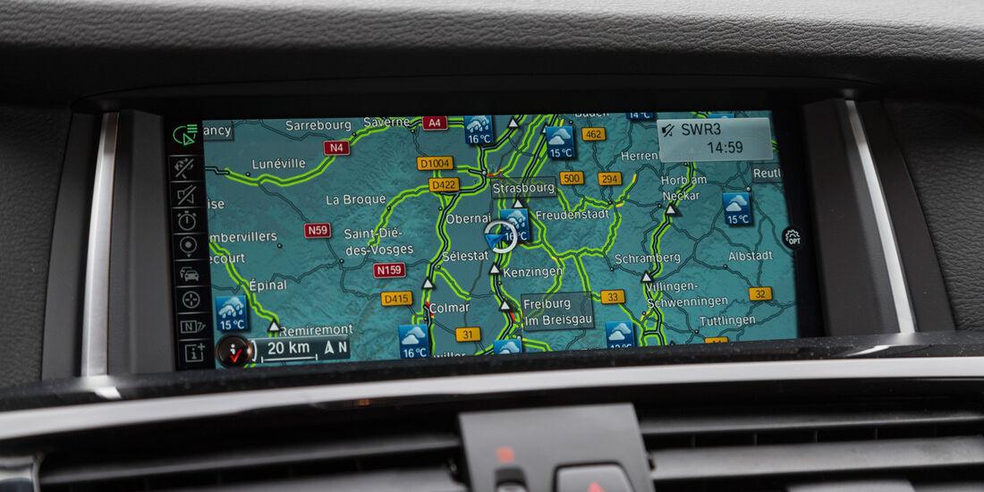 BMW X4 xDrive 35d, Navi