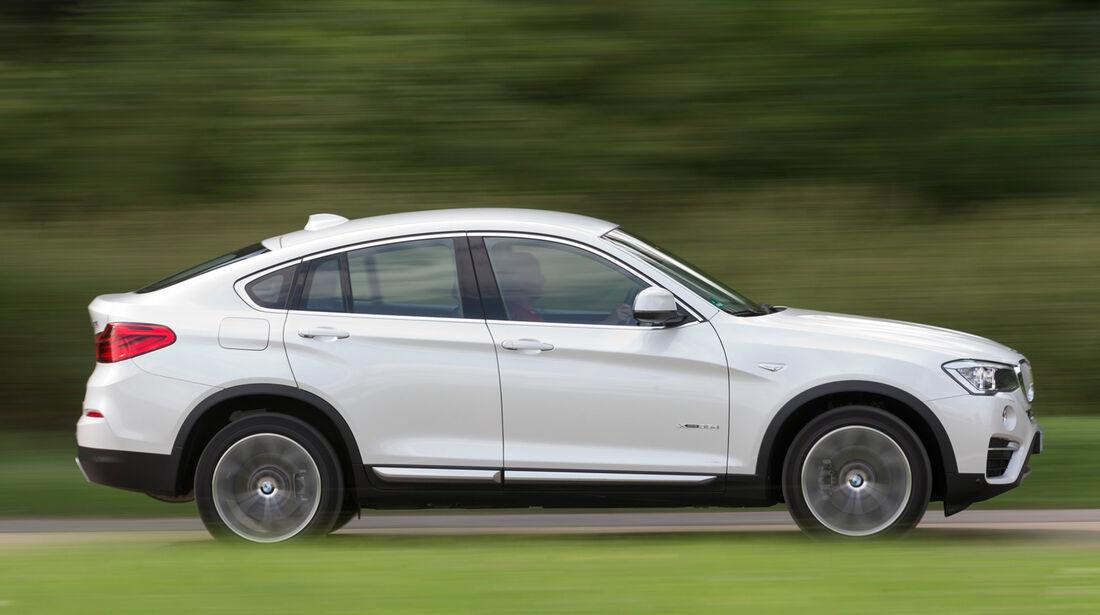 BMW X4 xDrive 35d, Seitenansicht