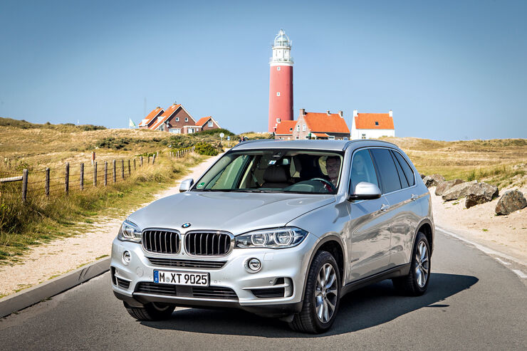 BMW X5 25d xDrive, Frontansicht