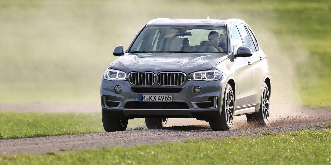 BMW X5 30d, Frontansicht