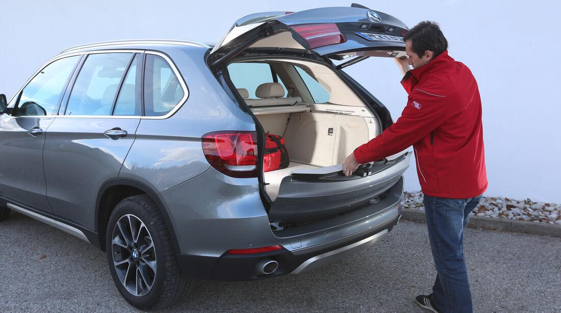 BMW X5 30d, Kofferraum