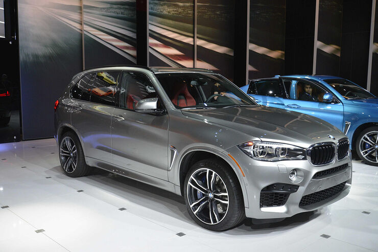 bmw x5 m x6 m auf der l a auto show auto motor und sport. Black Bedroom Furniture Sets. Home Design Ideas