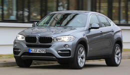 BMW X6 xDrive 30d, Frontansicht