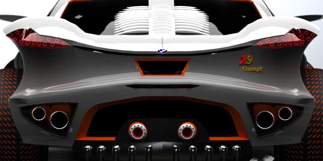 BMW X9 Concept, Heckansicht