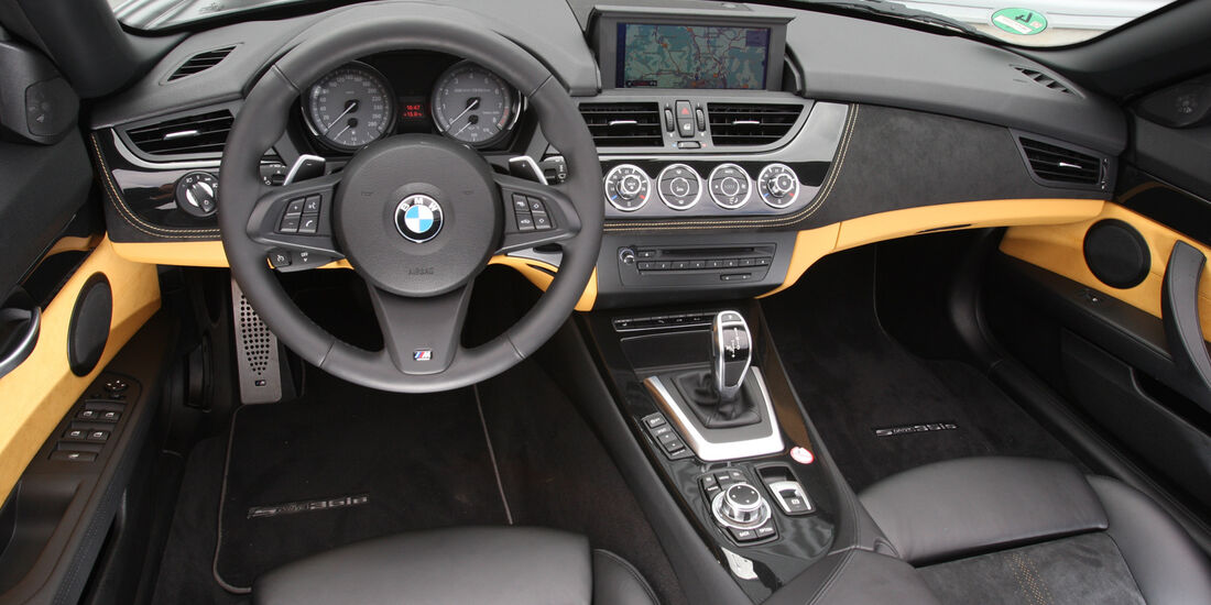 BMW Z4, Cockpit, Lenkrad