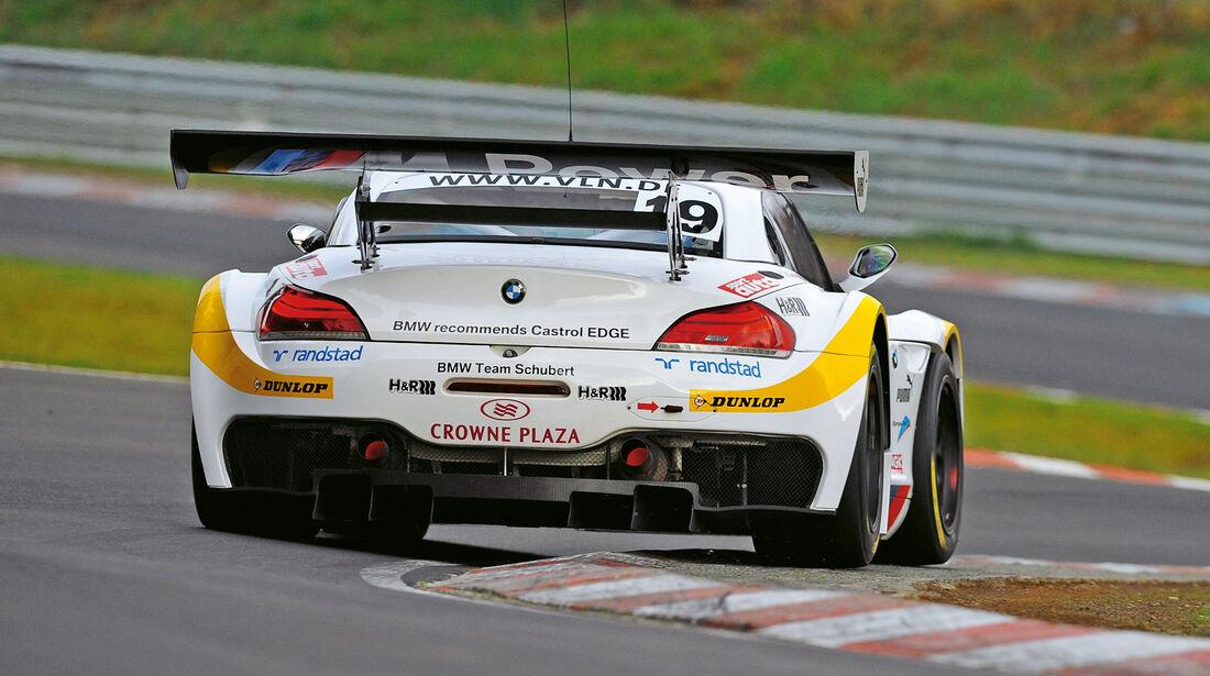 BMW Z4 GT3, Heck