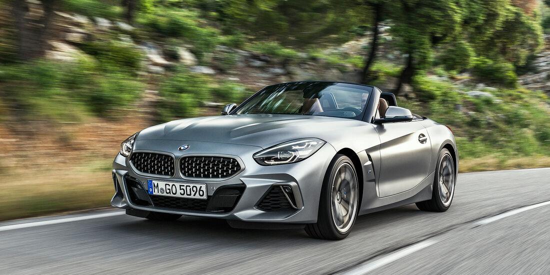 BMW Z4 M40i Roadster - Serie - Cabrios bis 100000 Euro - sport auto Award 2019