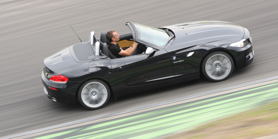 BMW Z4, Seitenansicht