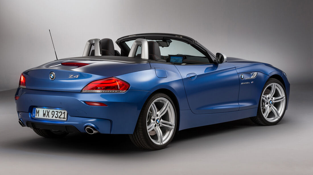 BMW Z4 in Estorilblau metallic Front