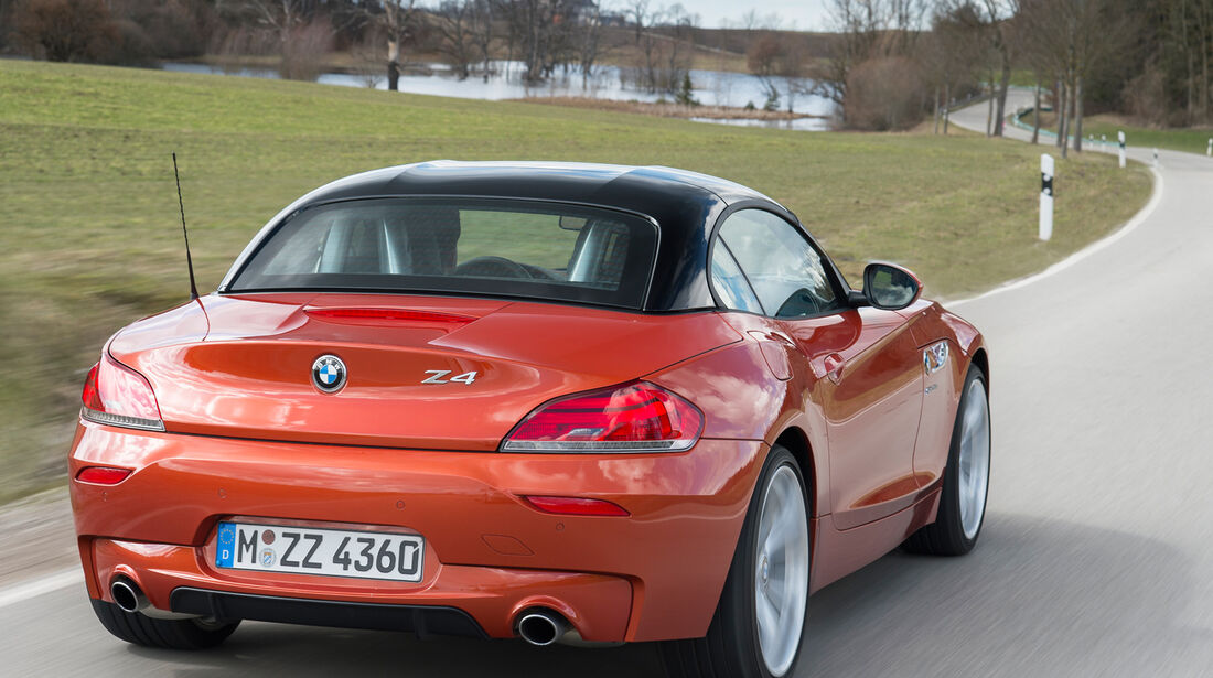 BMW Z4 s-Drive 35is, Heckansicht