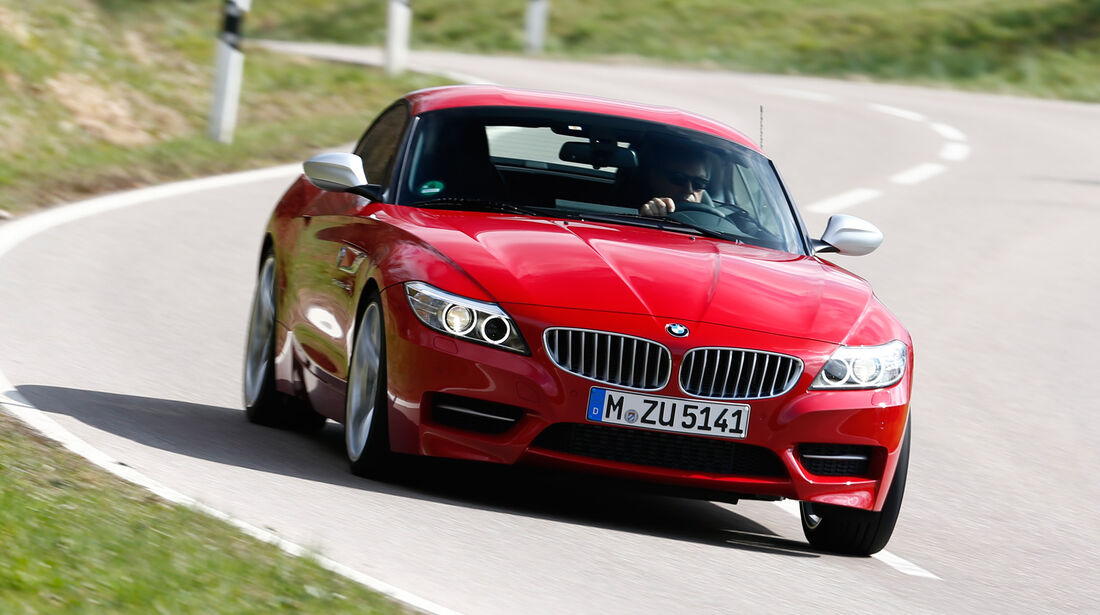 BMW Z4 sDRIVE 35is, Frontansicht