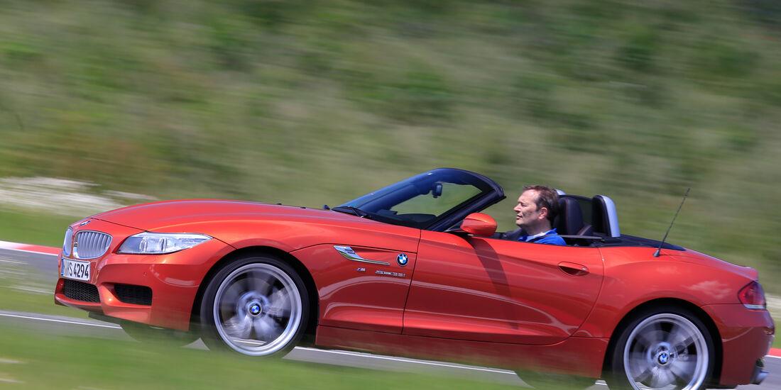 BMW Z4 sDrive 35i, Seitenansicht