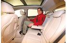 BMW Zweier Active Tourer, Fondsitz, Beinfreiheit