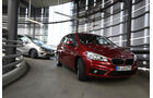 BMW Zweier Active Tourer, VW Golf Sportsvan 2.0 TDI,