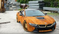 BMW i8 Rost-Look