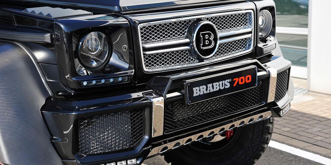 BRABUS B63S - 700 6x6 Mercedes GL