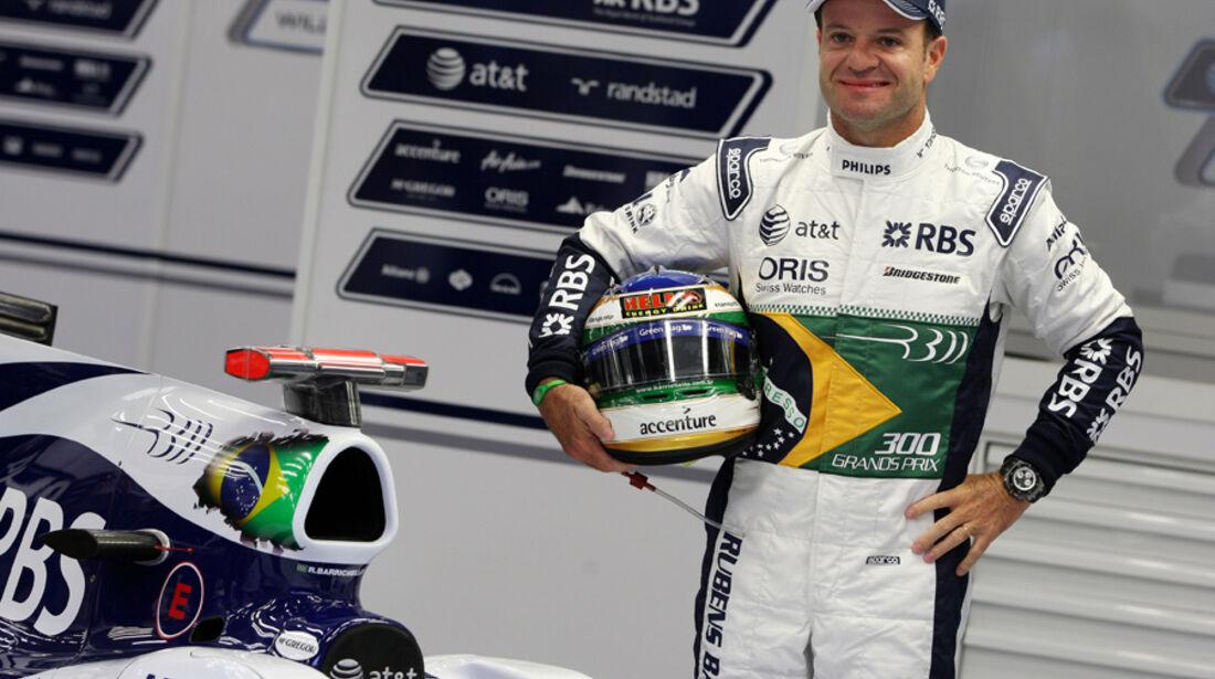Barrichello 2010 GP Belgien