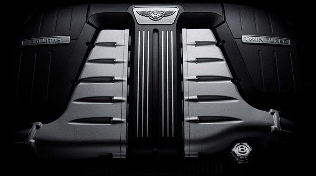 Benley Continental GT, 2011, W12, Motor