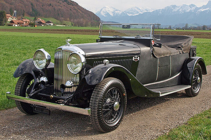 Bentley 3.5-Litre Derby Tourer