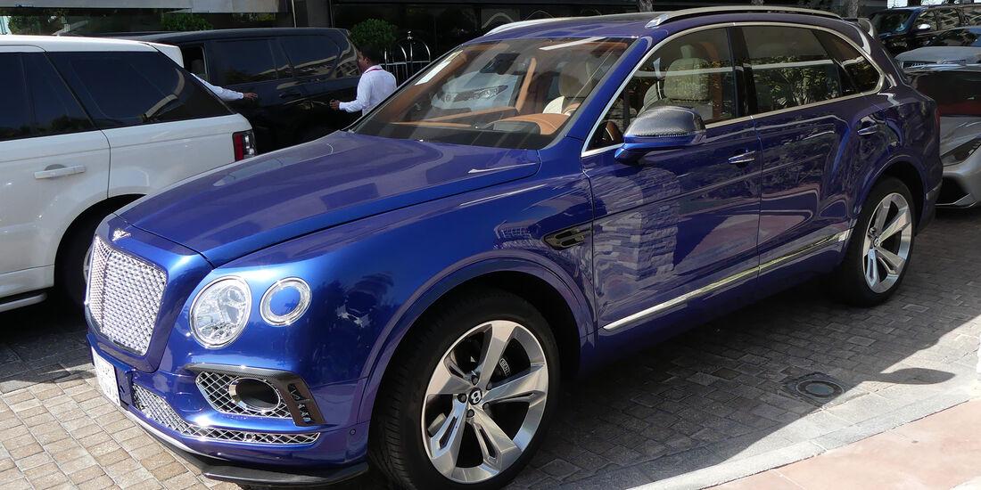Bentley Bentayga - Carspotting - GP Abu Dhabi 2016
