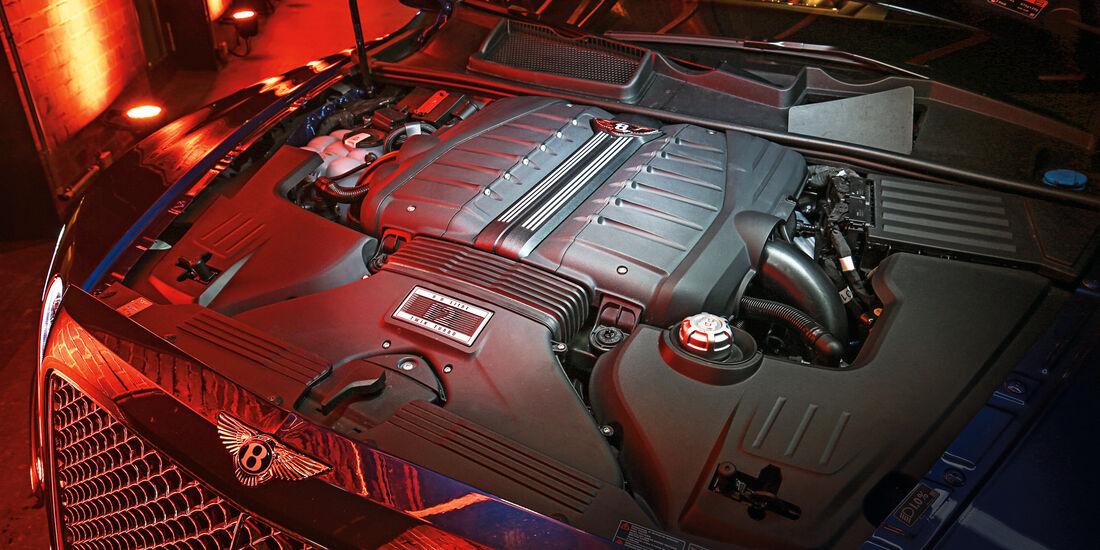 Bentley Bentayga, Motor