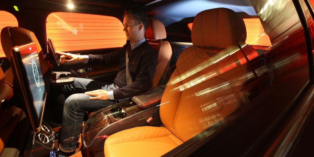 Bentley Bentayga, Sitz