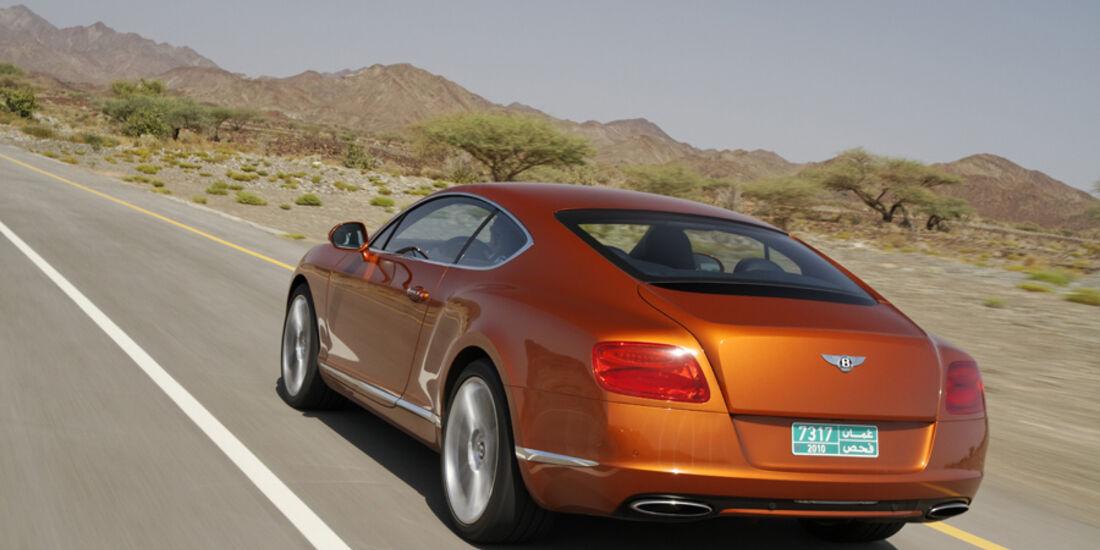 Bentley Continental GT, Heck