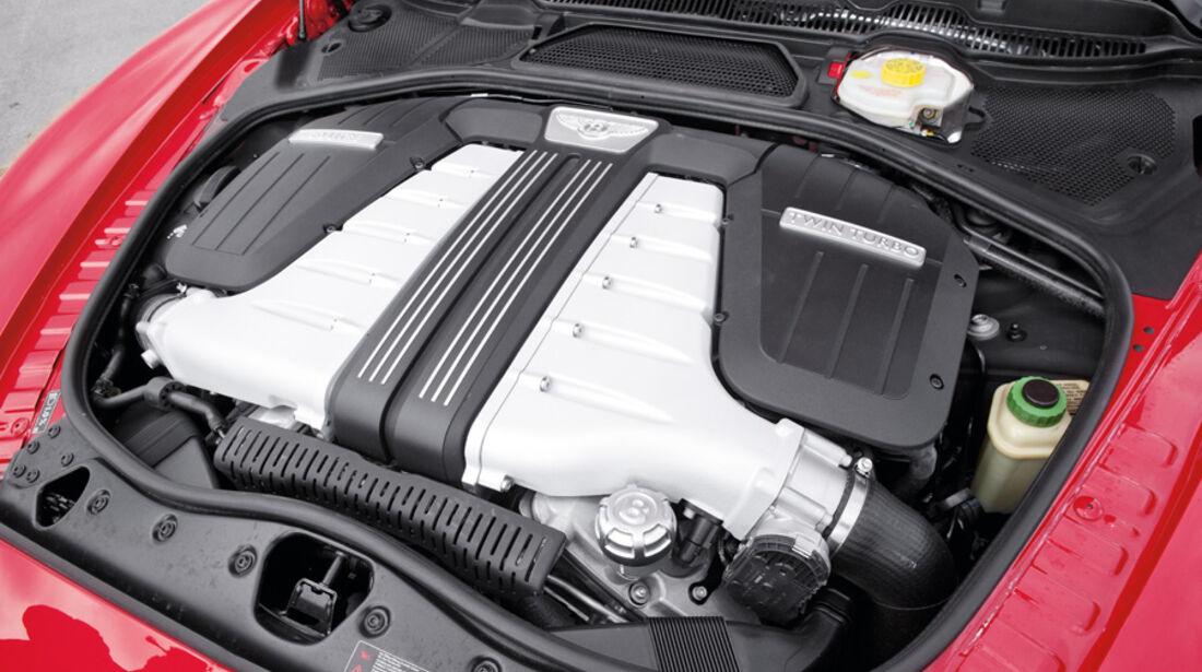 Bentley Continental GT, Motor, Motorraum