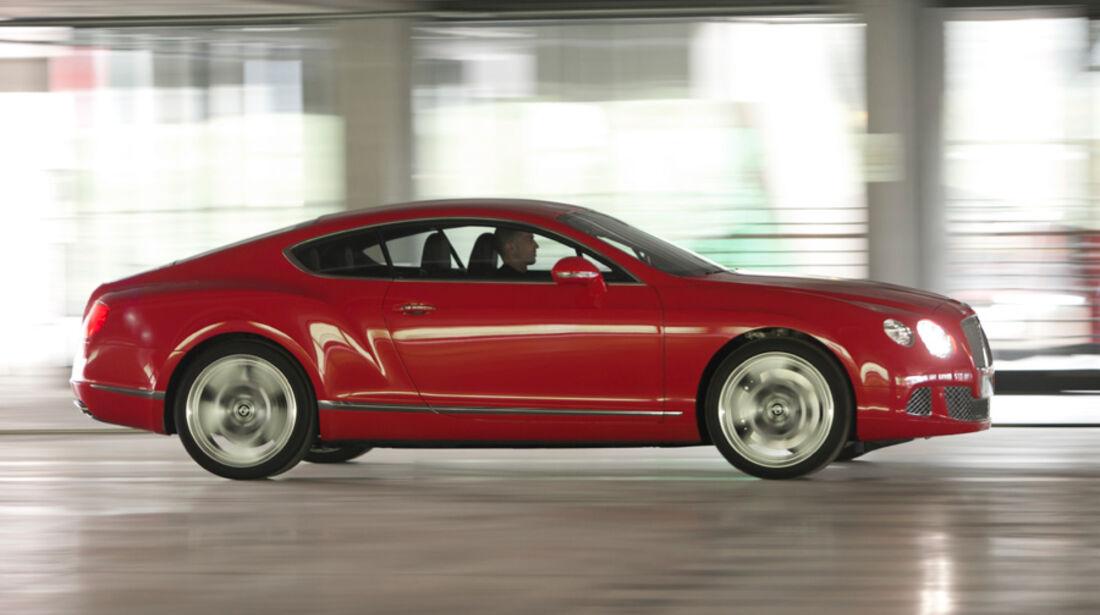 Bentley Continental GT, Seitenansicht