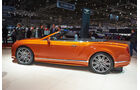 Bentley Continental GT Speed Cabrio, Genfer Autosalon, Messe, 2014