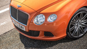 Bentley Continental GT Speed, Frontscheinwerfer, Rad
