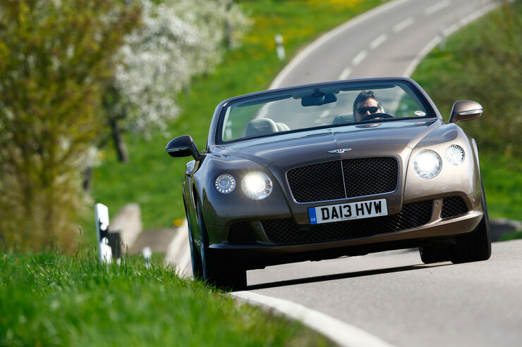 Bentley Continental GT Speed W12 Convertible, Frontansicht