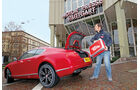 Bentley Continental GT V8, Heckklappe, Motorpresse
