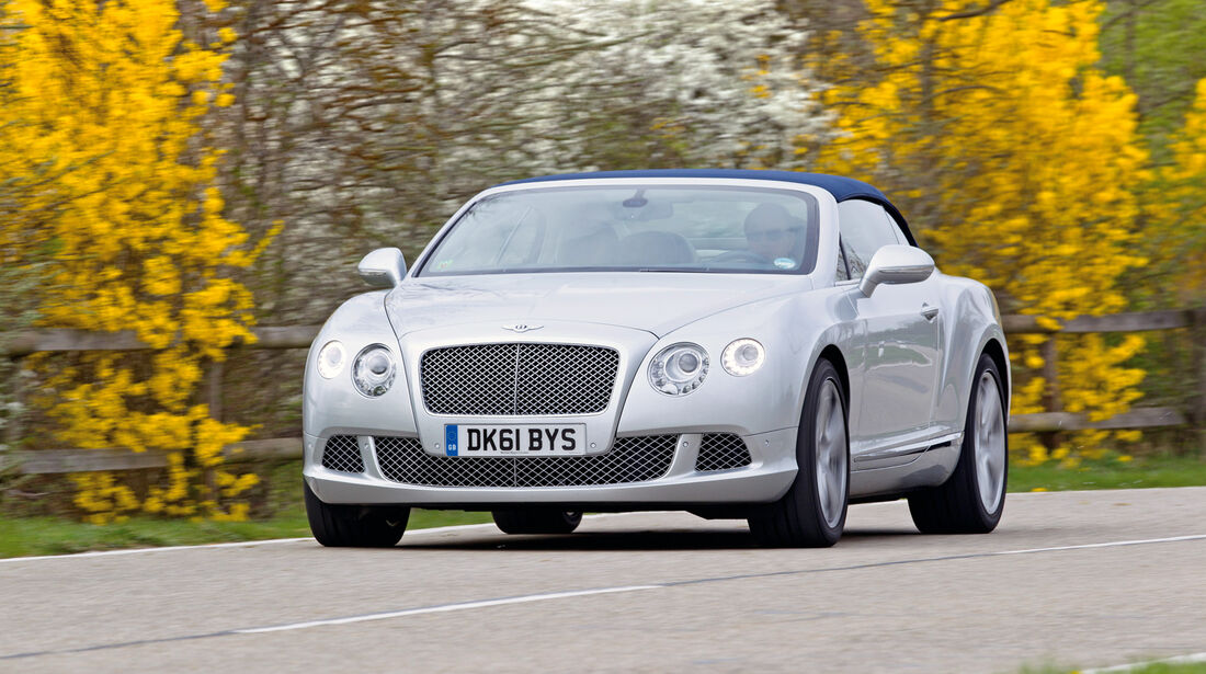 Bentley Continental GTC, Frontansicht