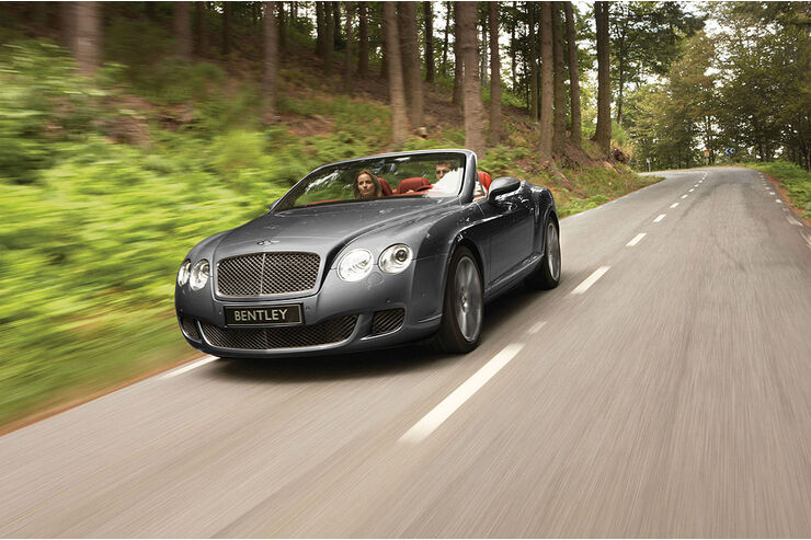 Bentley Continental GTC Speed 2009