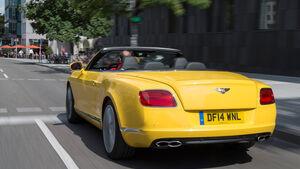 Bentley Continental GTC V8, Heckansicht