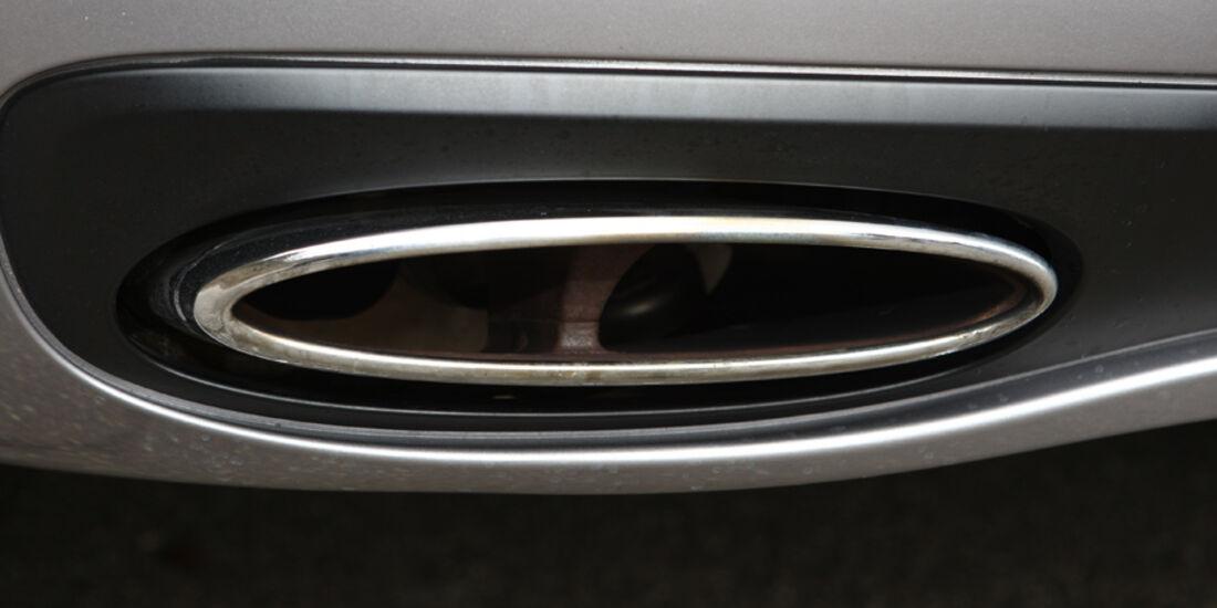 Bentley Continental Supersports Auspuff