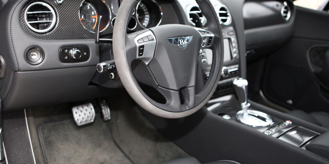 Bentley Continental Supersports Cockpit