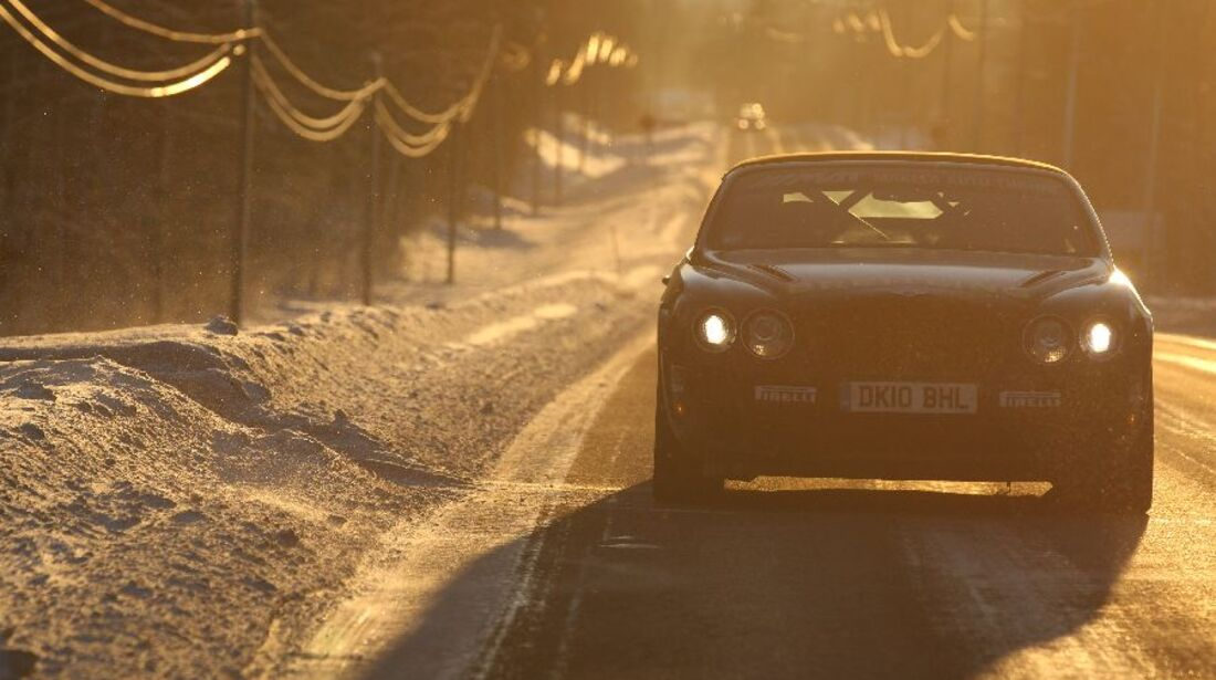 Bentley Continental Supersports Convertible ISR, Finnland