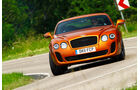 Bentley Continental Supersports, Front, Kurve