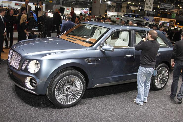 Bentley EXP 9 F Auto-Salon Genf 2012