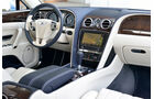 Bentley Flying Spur, Cockpit, Lenkrad, Mittelkonsole