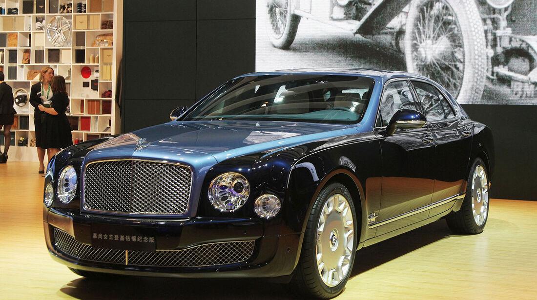 Bentley Mulsanne Royal Diamond Jubilee