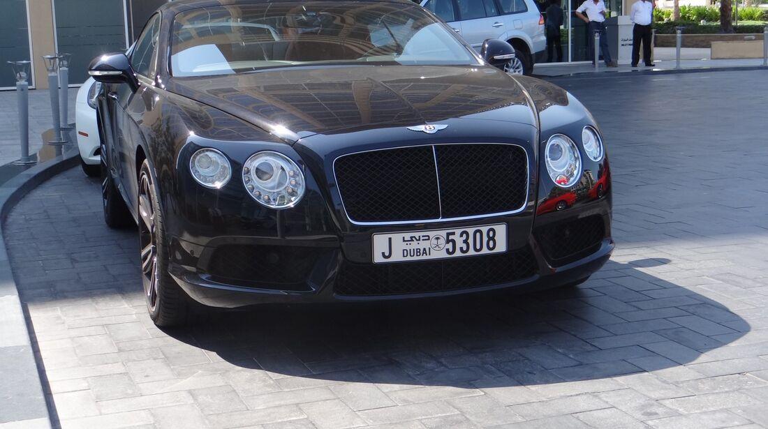 Bentley - Scheich Autos - GP Abu Dhabi 2012