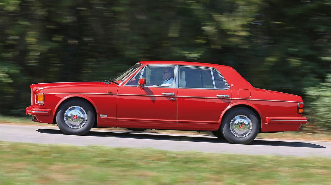 Bentley Turbo R, Seitenansicht