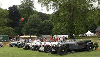 Bentleys bei den Classic Days Schloss Dyck